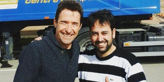 Ramon Tasies i Juliàn Marquez - Aptes pista